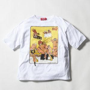 残り0分09秒ルチャ文字コブラツイスト Tシャツ